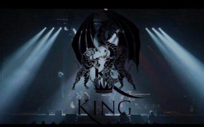 King en concert à Mablethorpe (Angleterre)